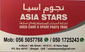 asia stars used cars and spare parts tr