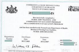 Certified Nursing Assistant Re