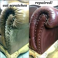 how to fix scratches on leather couch how to repair cat scratches on leather couch fix