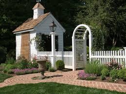 white picket fence ideas photos