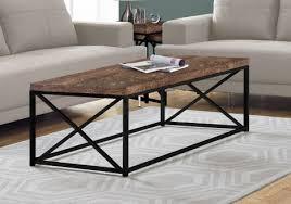 coffee table brown reclaimed wood