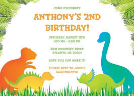 Dinosaur Birthday Invitation Dinosaur Birthday Invitation Templates Free En 2019 Fiesta