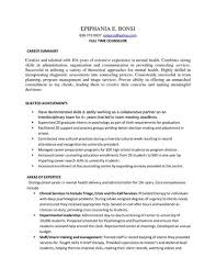 Brilliant Ideas of Sample Resume Mental Health Counselor For Your Download  Proposal