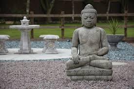 mega stone buddha statue large garden