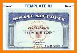 Wildlifetrackingsouthwest - Template Social Security com Card Zoroblaszczakco Blank Download