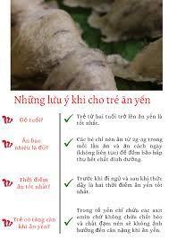 Dinh dưỡng mùa dịch: cho trẻ ăn yến thế nào là đúng cách - Sài Gòn Tiếp Thị