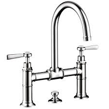 hansgrohe axor montreux 8 widespread mid arc bathroom faucet