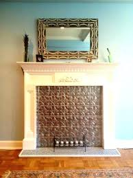 fireplace draft blocker gas fireplace draft stopper my finished with tin tile blocker gas fireplace draft