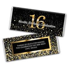 chocolate bar wrappers personalized candy wrappers and bars sweet 16 and sixteenth