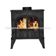 indoor cast iron wood burning room heater for family use