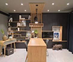 Bureau Maison Design Tasseaux En Bois Pour Ce Meuble Sur Mesure De Bureau Et
