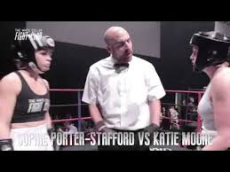 Sophie Porter Stafford VS Katie Moore (The White Collar Fight Club Title) -  YouTube