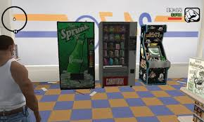 Gta 5 Vending Machine Locations Delectable GTA San Andreas GTA V Vending Machine Sprunk And CandyBox Mod