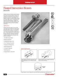 Heat Pipe Design Guide Flanged Immersion Heater Design Guide Manualzz Com