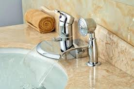 full size of shower tub diverter kit leaking height deck mounted bathroom faucet waterfall spout w