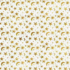 Moon Pattern Adorable Moon Star Sticker Pattern Star Pattern Cliparts Png Download