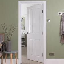 4 panel white interior doors. 4 Panel Wood Grain Interior Doors Psoriasisguru Com White