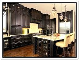 refinishing oak kitchen cabinets dark stain cabinet wood