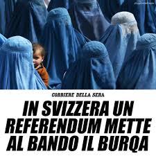 Silvia Sardone - Vittoria in Svizzera del referendum contro burqa e niqab  nei luoghi pubblici. Una scelta importante contro un simbolo di  sottomissione della donna. Il velo non è libertà! | Facebook