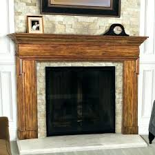 stacked stone fireplace with mantle fireplace mantels ideas wood photo 5 of 9 fireplace mantel ideas