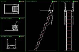 Autocad 2016 full version free download. Folding Stairway Dwg Section For Autocad Designs Cad
