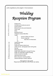 Wedding Schedule Template Elegant Wedding Day Schedule Template Best Templates 2