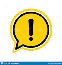 Atención De La Advertencia Del Peligro O Muestra Amarilla De La Exclamación  En Un Estilo Plano Del Ejemplo Del Vector Del Icono D Ilustración del  Vector - Ilustración de concepto, mensaje: 147026727