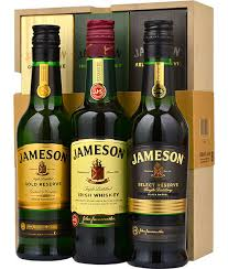jameson trilogy gift pack 3 x 20cl view 1