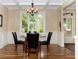 incredible dining room paint colors with chair rail emejing