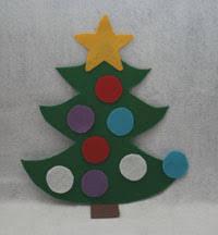 Felt Christmas Tree Craft All Kids Network