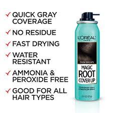 L'Oreal Paris Magic Root <b>Cover</b> Up Gray Concealer <b>Spray</b> Dark