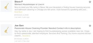 How To Price A House Cleaning Job Housekeeping Jobs In Chicago Il