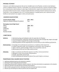 Free 6 Medical Assistant Resume Templates In Samples
