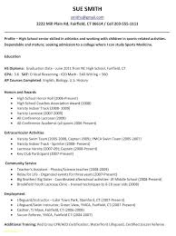 College Resume Examples For Highschool Seniors Make A Will Online Interesting College Resume Examples For High School Seniors