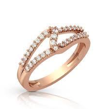 Diamond Designs Diamond Ring Designs In Pink Gold