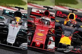 F1 Technik 2017 Was Mercedes Ferrari Und Red Bull Unterscheidet
