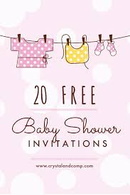 Free Baby Shower Invitations Free Baby Shower Invitations With