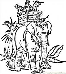 Small Picture Indian Elephant Coloring Page Free India Coloring Pages