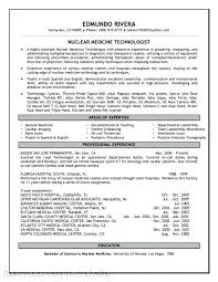 Cover Letter Medical Laboratory Technologist New Resume Medical