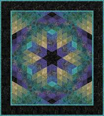 Turtle Lagoon Quilt Pattern Directions | Facets Malam Batik Quilt ... & Turtle Lagoon Quilt Pattern Directions | Facets Malam Batik Quilt Kit -  Lagoon Color way - Adamdwight.com