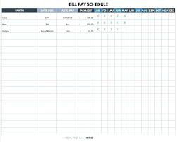 Running Journal Template Log Excel Bill Payment Schedule Training