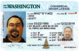 State Site Driver Designs License Wa Official dol Licensing