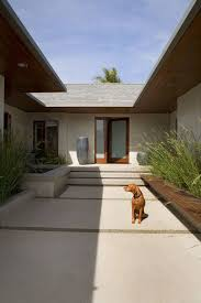 Decorative Garden Urns Entry courtyard design entry contemporary with covered entry covered 94