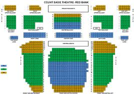 Count Basie Seating Chart Count Basie Center For The Arts In Red Bank New Jersey