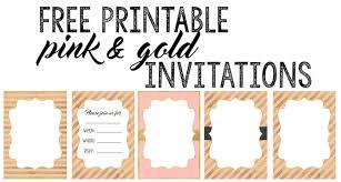 Birthday Invitations Printable Birthday Invitations Free Printable Templates Paper Trail Design