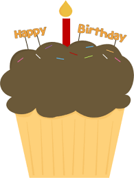 birthday cupcakes clipart. Contemporary Cupcakes Happy Birthday Cupcake On Cupcakes Clipart B