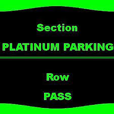 1 1 Platinum Parking Imagine Dragons 7 13 Hollywood Casino
