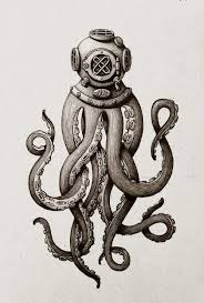 Small Picture octopus man drawings Pesquisa Google Projetos para