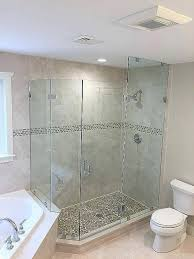 glass shower partition half wall glass shower partition best of sofa sofa best shower door with