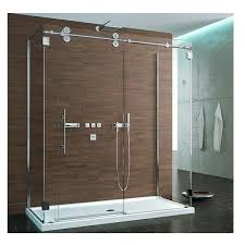 shower door glass replacement framed bathroom within sliding doors inspirations 19